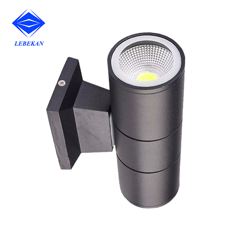 LED wall light for porch waterproof outdoor up down LED wall lamp Hotel Villa balcony Exterior