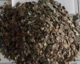 Silver vermiculite sheet