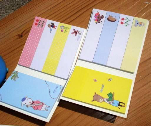 Memo Pad, Sticky notepad, notebook