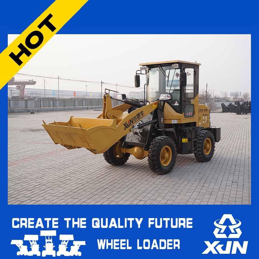 Small construction machine 1 ton 0.4CBM ZL10 mini wheel loader with CE