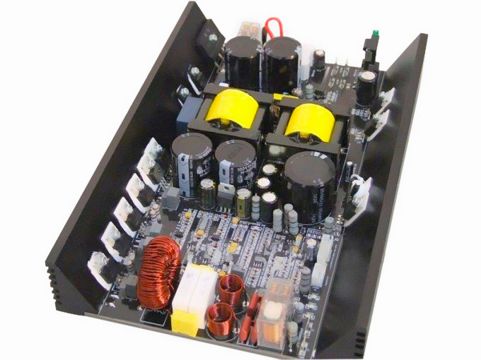 500W 100V Public Address Class D+SMPS Mono Amp Module