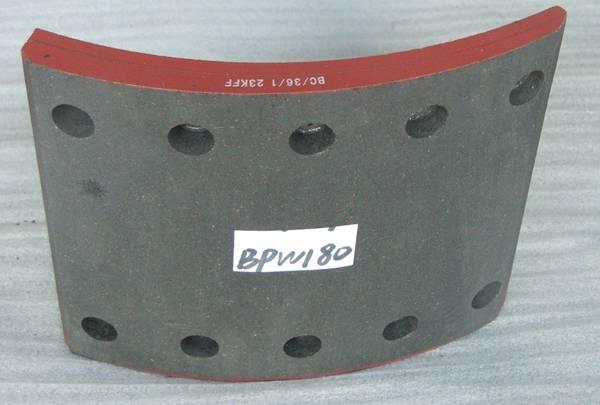 Brake Lining BPW180 New