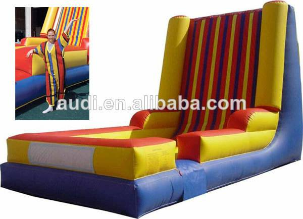 inflatable velcro wall,sticky wall,velcro climbing wall