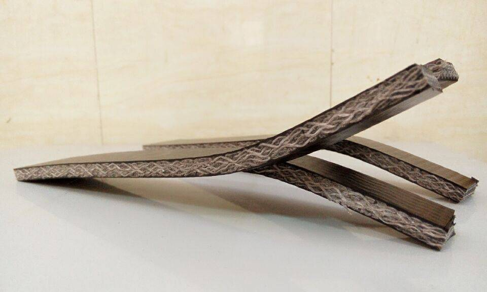PVC Solid Woven Conveyor belt