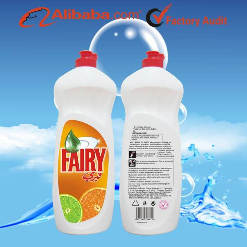 For Fairy Dishwashing Liquid 750ml