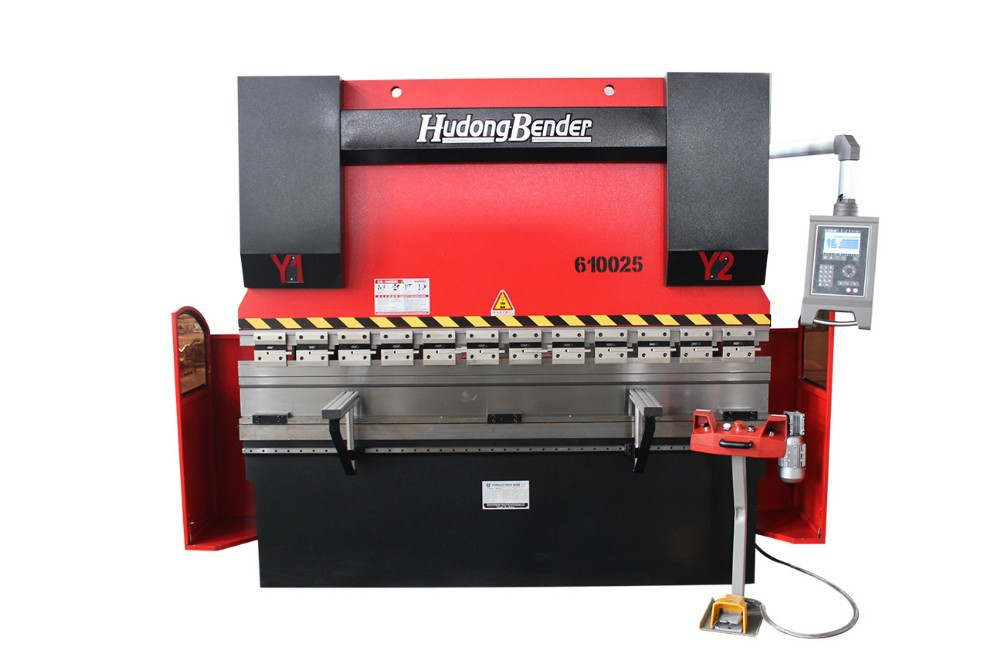 SIMPLE CNC HYDRAULIC PRESS BRAKE WITH SOFT LIMIT SWITCH FUNCTION