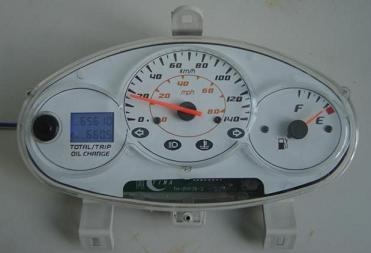 The LCD mileage integration meter