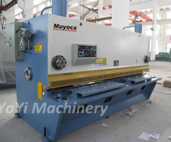 QC11Y-12x3200 hydraulic metal plate shearing machine