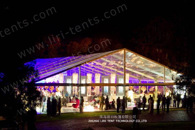 30x60m Large Clear Event Tent for Open Ceremony