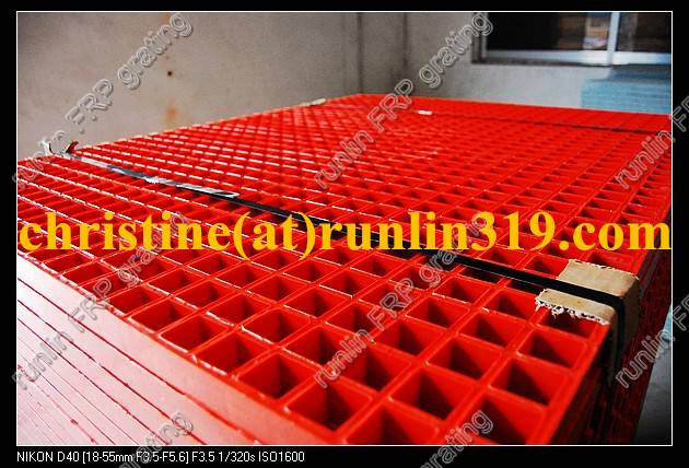 FRP Gritted Covered Grating Drain Grating,car wash