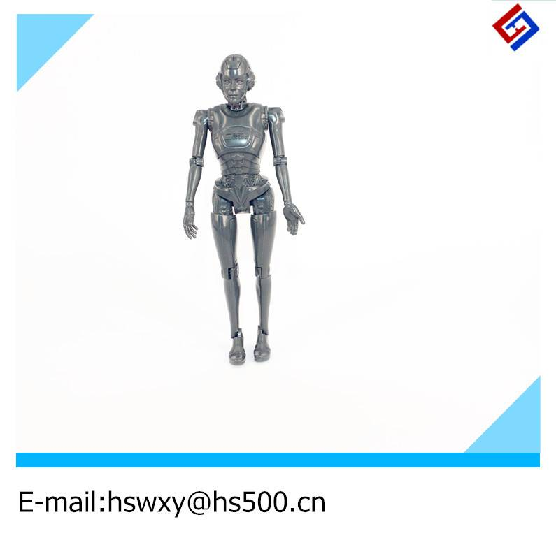 Plastic toy robot for baby / kids by injection mold with lower price