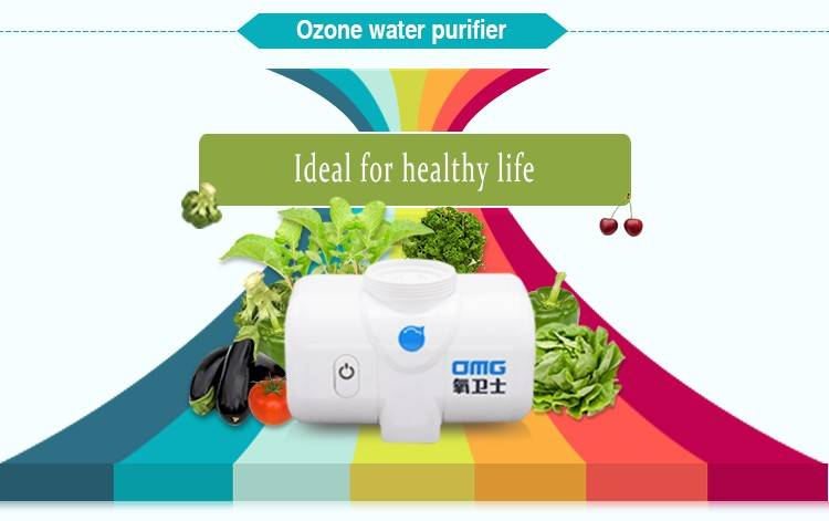 Kitchen pre-filtration Ozone water purifier with tap/faucet purification system