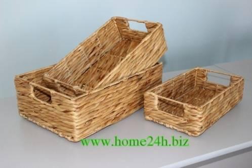 Water Hyacinth Wicker Baskets