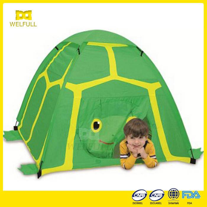 New Green Nylon Single Princess Kid Play Tent