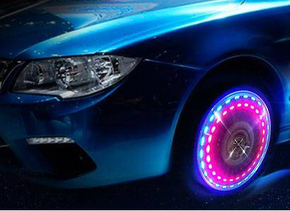 Super Waterproof Solar Car LED Wheel Light 2015