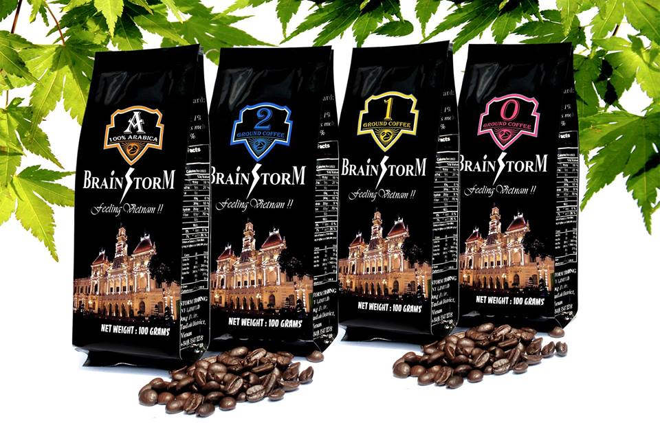 100% Robusta Vietnam Ground and Bean Coffee