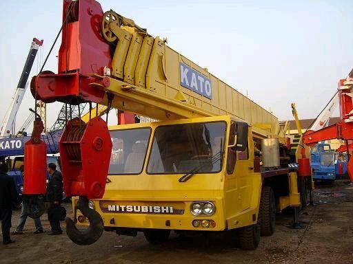 Used Kato Truck Crane
