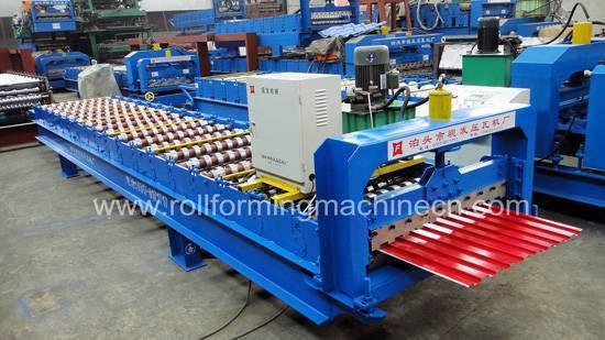 Roll shutter door forming machine XF760/800/830