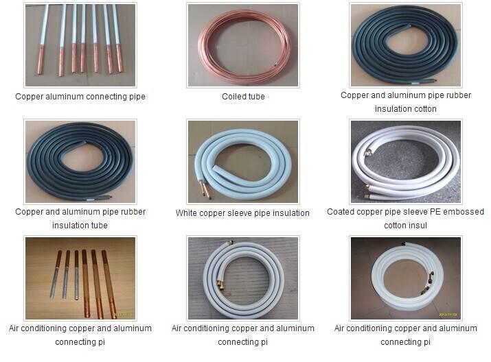 The air-conditioner copper aluminum connecting pip