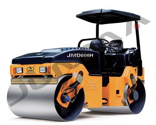 JM806H/JMD806H Full Hydraulic Double Drum Vibratoryroller Vibratory Oscillatory