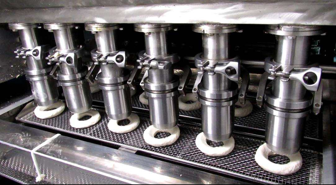 DPL series donut production line for sale-Yufeng