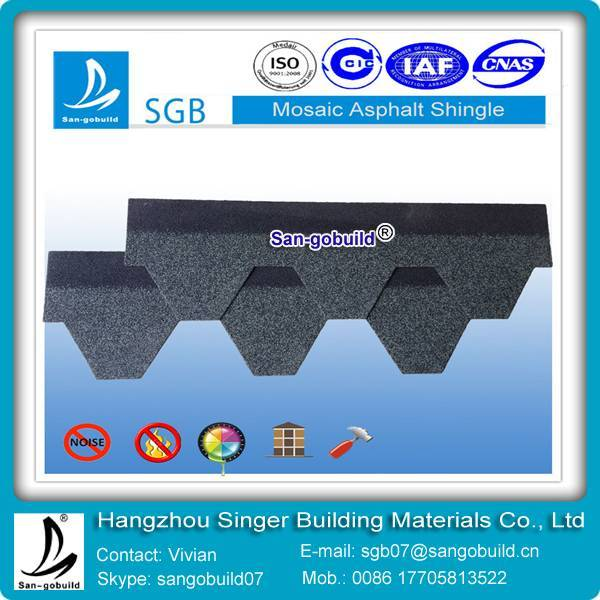 available price mosaic asphalt shingles from china manufacturer
