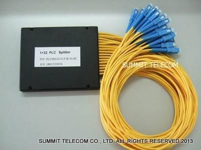 Fanout Optical PLC Splitter, Box Type Fiber Optic PLC Splitter