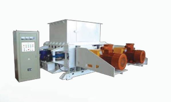 series of screening double-roller crusher