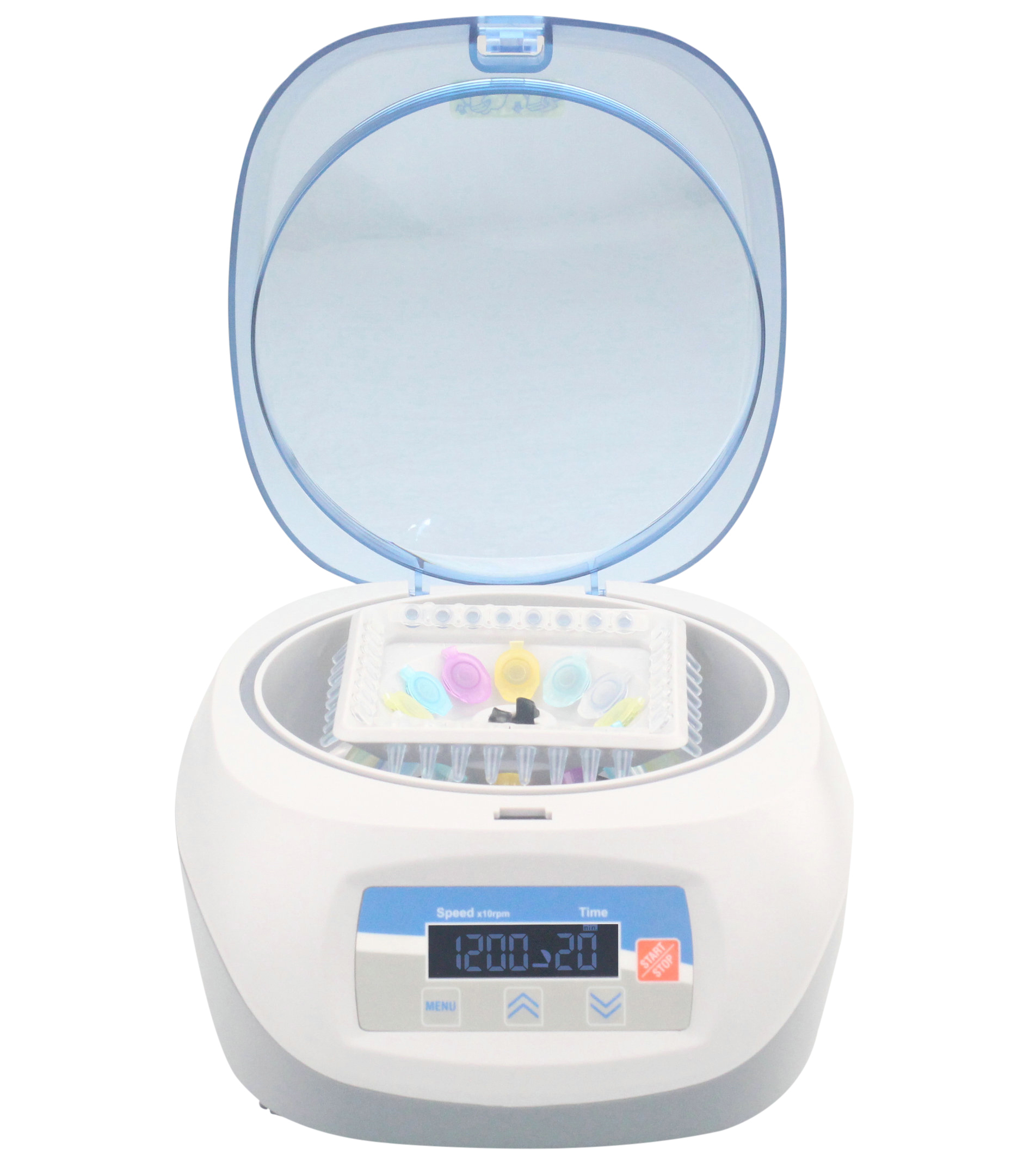 Mini centrifuge 500rpm- 12, 000rpm, more rotors available to be changed, large capacity (Mini-L)