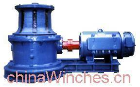 Horizontal or Vertical electric marine anchor windlass capstan