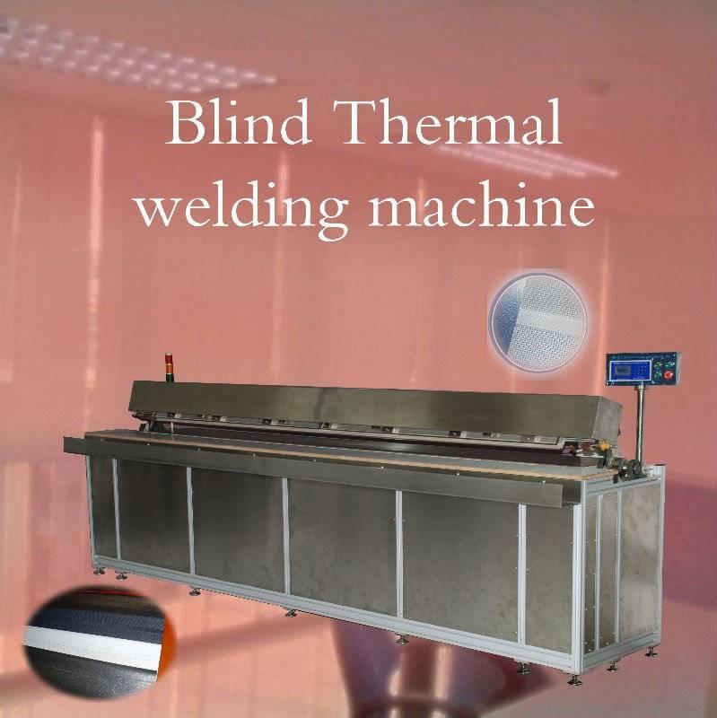 blind fold welding machine