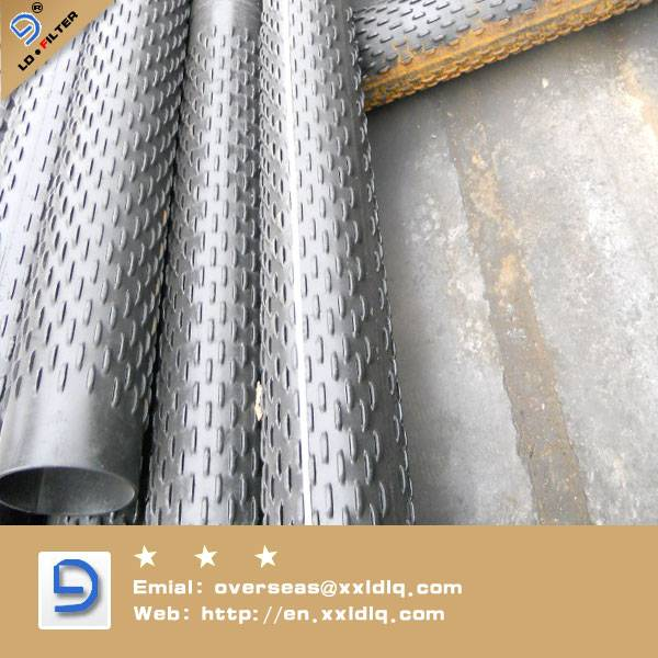 Galvanized steel Bridge Slotted Screen pipe