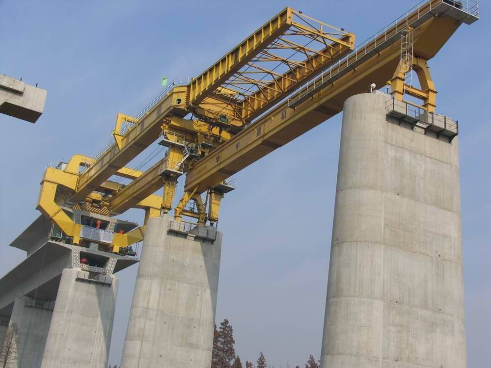 900tlaunching gantry for high speed railway construction