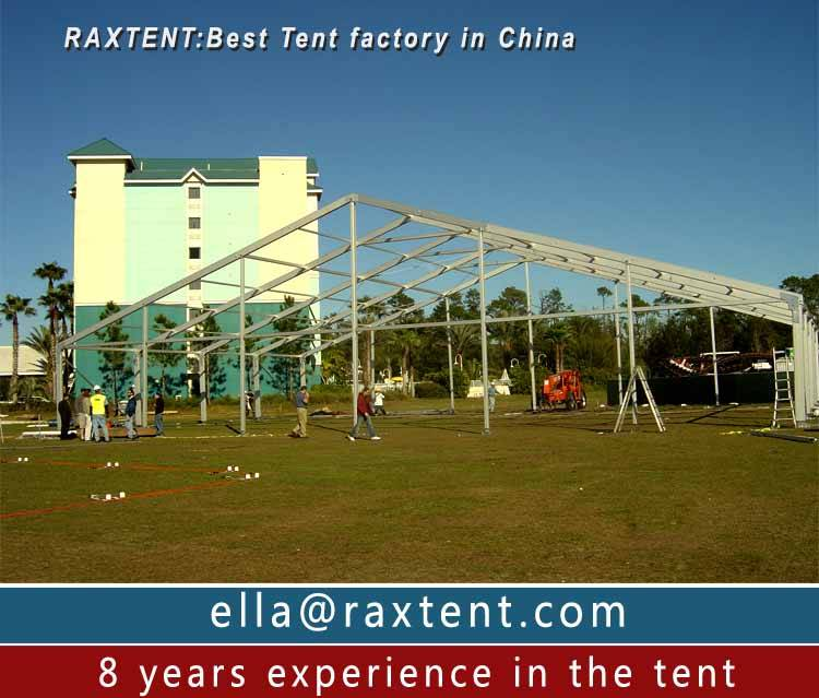 10m to 25m Transparent Marquee Tent on promotion from Rax Tent