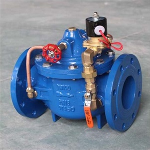 600X solenoid control valve factory supply