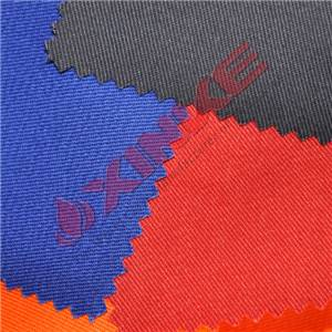 7oz twill cotton nylon anti-fire suit fabric