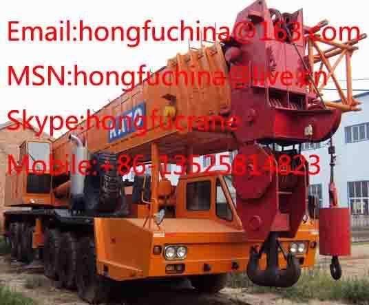 160T KATO NK1600 TRUCK CRANE FOR SALE