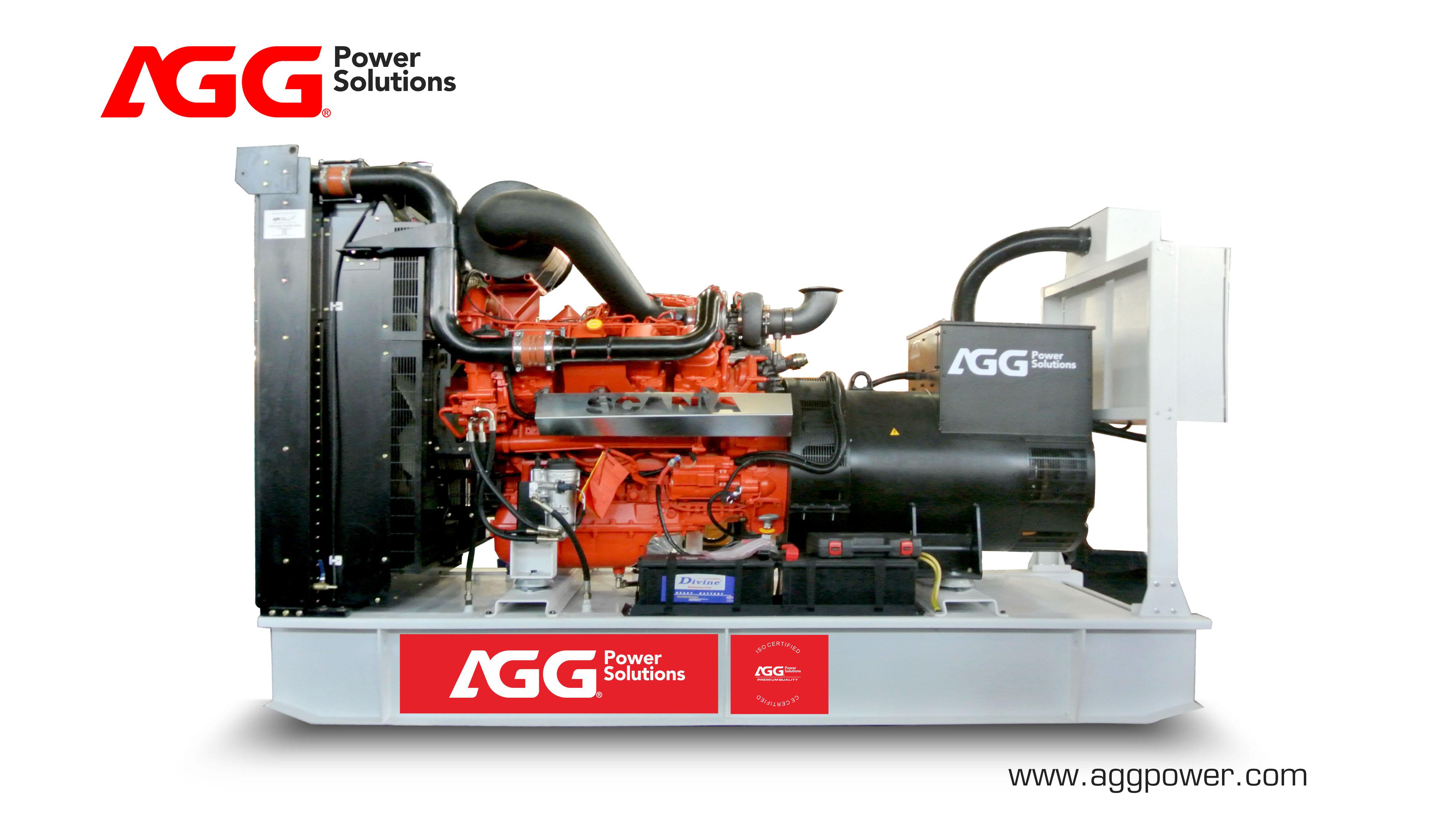 AGG Scania diesel generator