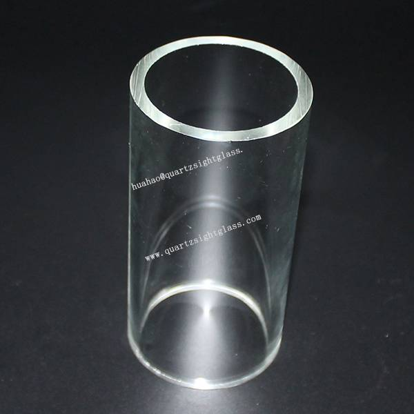 Clear Glass Cylinder Tube