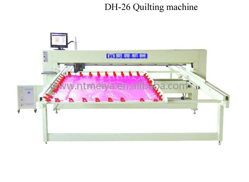 DH-26 computerized single-needle quilting machine