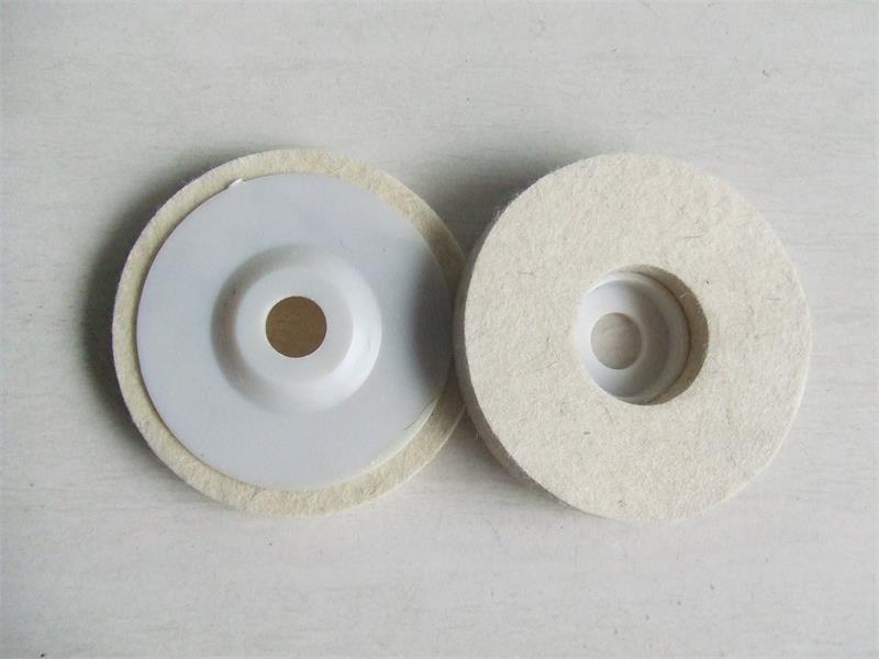 felt disc, buffing wheel, wool wheel