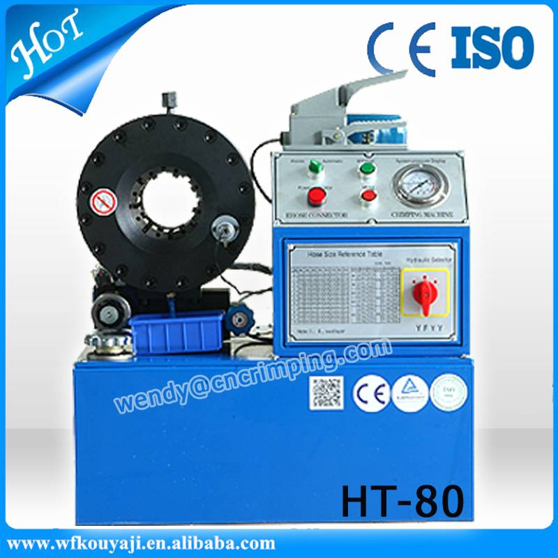 HT-80 hydraulic hose crimping machine for sale