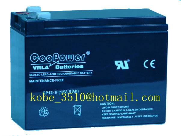 Sealed Lead acid battery for motorcycle