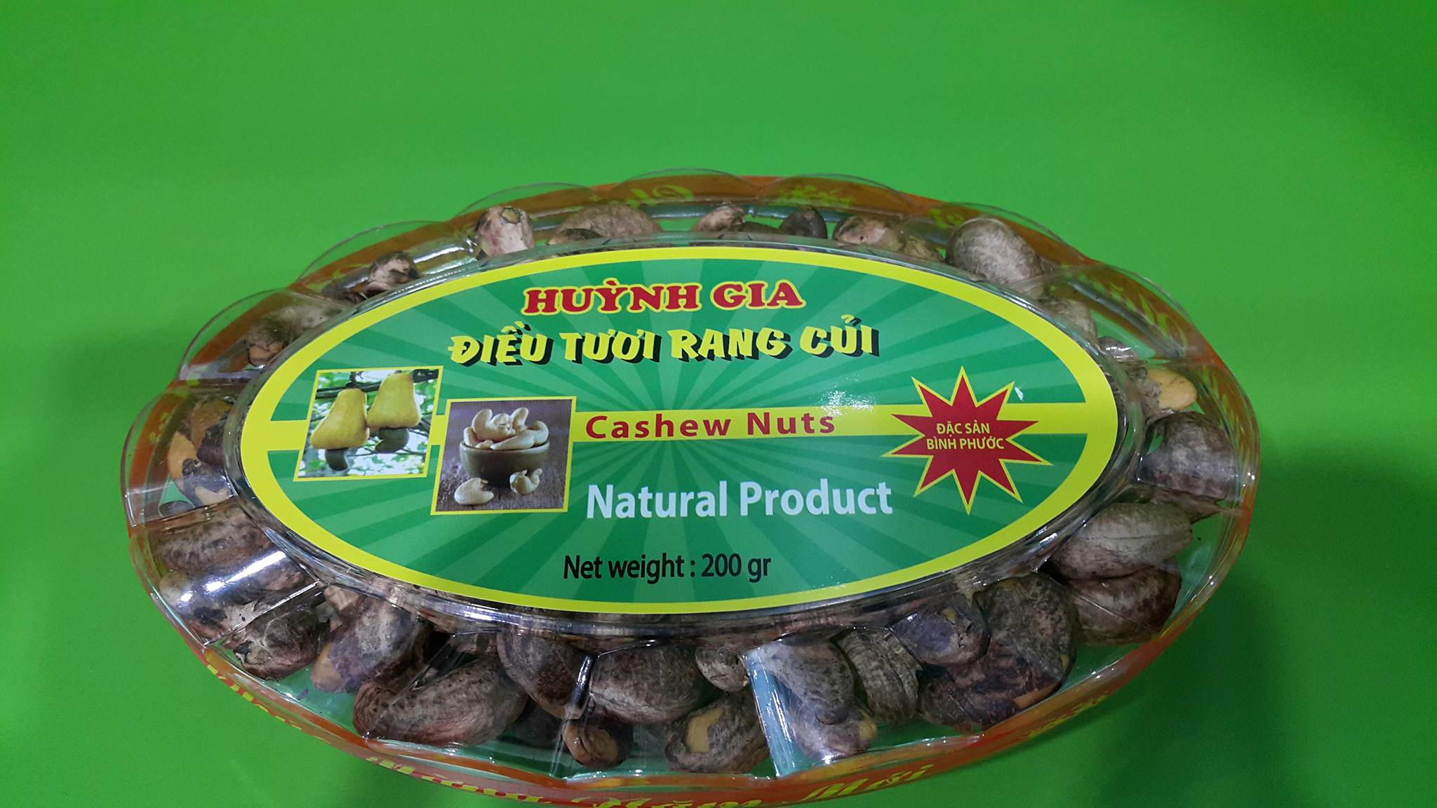 Cashew Nuts Salted with Shell