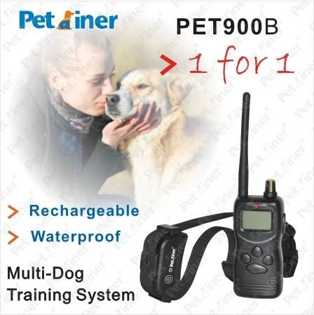 1000m remote shock rechargeable and waterproof dog electronic collar