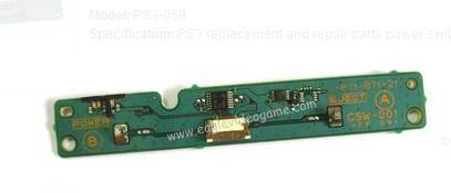 Replacement Repair Parts PS3 Power Switch Board CSW001 for FAT Console