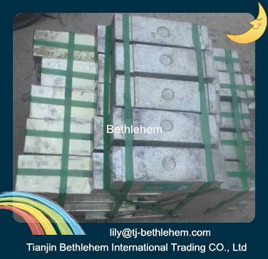 high purity of 99.99% Tin ingot