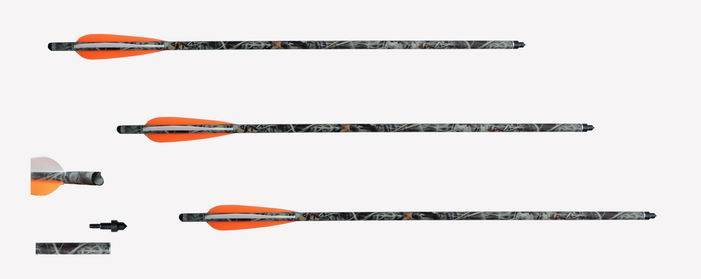 carbon arrow for crossbow