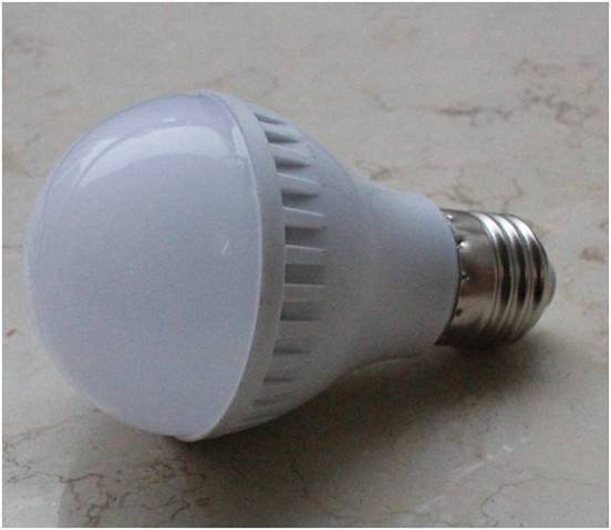$0.26/Pc 3W LED Bulb Light,New Private Mould Plastic +Aluminum Material, 4W/5W/7W /9W Lamp Available