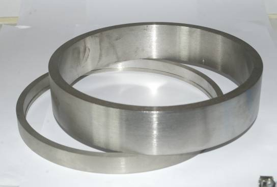 tungsten alloy ring circle round
